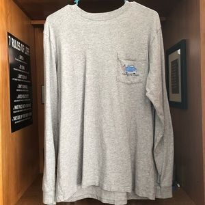 Vineyard Vines Labor Day Long Sleeve Shirt